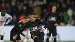 Mbappe lập công giúp PSG ngược dòng thắng Angers ở vòng 10 Ligue 1
