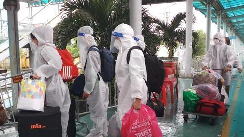 Ninh Bình đón 568 công dân đợt 2 trở về an toàn