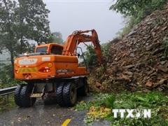 Từ Nghệ An-Quảng Ngãi, Kon Tum, Gia Lai đề phòng lũ quét, sạt lở đất