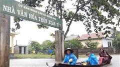 Miền Trung: Mưa lớn khiến 3 người mất tích, nhiều nơi ngập sâu