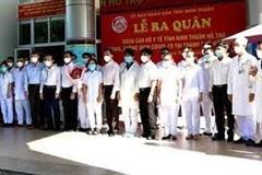 TP Hồ Chí Minh: Hỗ trợ Ninh Thuận chống dịch
