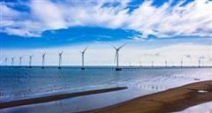 Trungnam Group hoàn thành lắp đặt trụ gió cuối cùng Dự án điện gió Đông Hải 1 - Trà Vinh