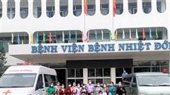 Bệnh viện Bệnh nhiệt đới TP.HCM tiếp ứng Sóc Trăng chống dịch Covid-19