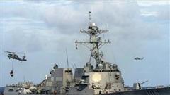 Giữa lúc căng thẳng gia tăng, chiến hạm Mỹ và Canada đi qua Eo biển Đài Loan