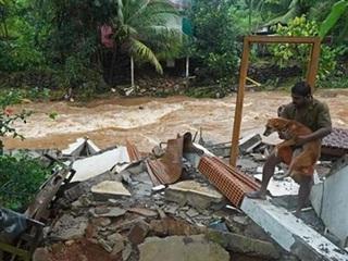 Hàng chục người thiệt mạng và mất tích do mưa lũ tại Ấn Độ