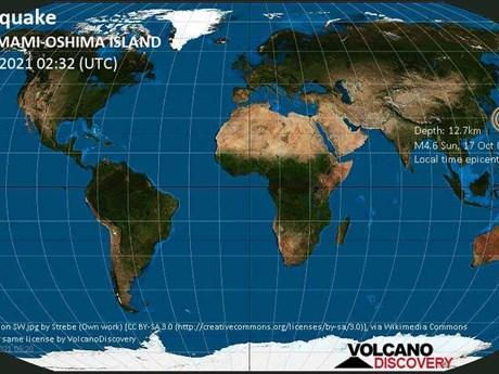 Hai trận động đất mạnh làm rung chuyển Nhật Bản và New Zealand