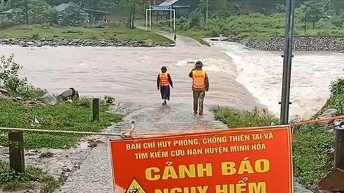 Tập trung ứng phó mưa lũ tại khu vực Trung Bộ và Tây Nguyên
