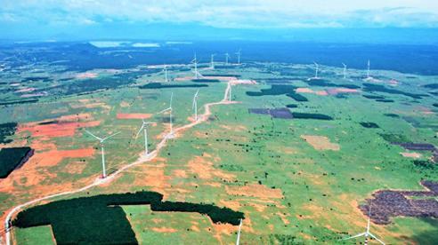 Dự án Điện gió Thái Hòa trên đà vận hành thử