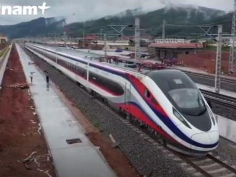 Choáng ngợp tuyến đường sắt cao tốc Lào-Trung Quốc trị giá 6 tỷ USD