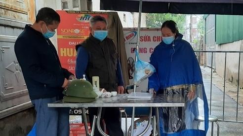 Vĩnh Phúc: Phong tỏa, truy vết 2 ngõ với 32 hộ dân liên quan ca F0 ở thị trấn Thanh Lãng