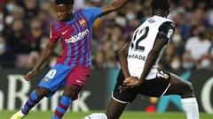 'Thần đồng' Fati tái xuất, Barcelona đại phá Valencia