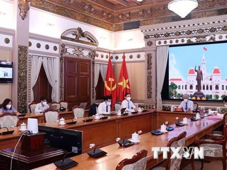 Thành phố Hồ Chí Minh thúc đẩy quan hệ hợp tác đối ngoại