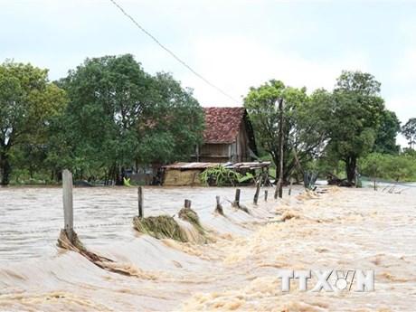 Đắk Lắk tập trung khắc phục hậu quả do mưa lũ gây ra