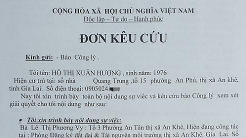 Gia Lai: Một nhân viên Chi nhánh VP ĐKĐĐ bị tố nợ hàng tỉ đồng
