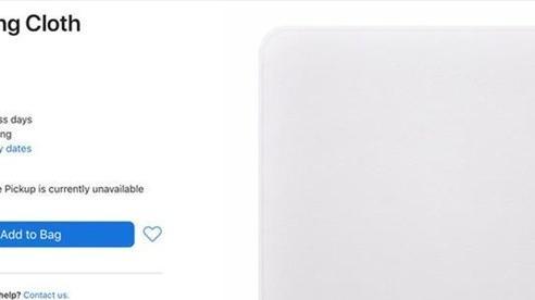 Miếng giẻ lau của Apple có gì đặc biệt mà được bán với giá gần 20 USD?