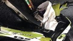 Cây đè chết người đàn ông đi xe máy, tiền trong hộc xe biến mất