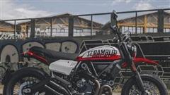 Ducati Scrambler Urban Motard phiên bản tranh sơn đường phố ra mắt