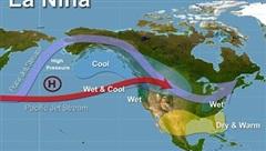 La Nina trở lại và kéo dài tới tháng 2 năm sau