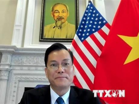 Đại sứ Việt Nam dự Đối thoại chính sách kênh 1,5 Đối tác Mekong-Mỹ