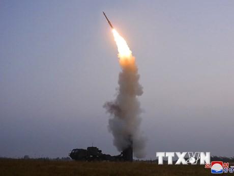 Hàn Quốc xác định Triều Tiên bắn thử một tên lửa đạn đạo
