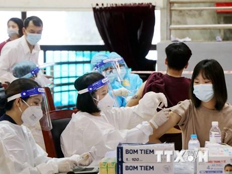 Phú Thọ ưu tiên tiêm phủ vaccine tại các điểm 'nóng' COVID-19