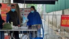 Vĩnh Phúc: 25 trường hợp F1 ở thị trấn Thanh Lãng âm tính lần 1