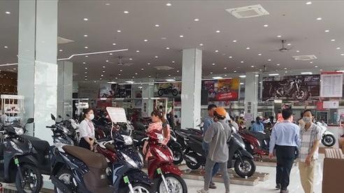 Thị trường xe máy: Hết thời hoàng kim