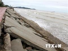Nghệ An phản hồi thông tin Dự án kè biển hơn 40 tỷ đồng bị vỡ sau bão
