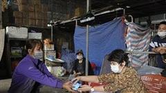 Chợ Long Biên hoạt động trở lại từ 0 giờ ngày 21/10