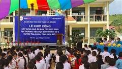 Xây dựng nhà ăn bán trú tặng học sinh Trường Tiểu học Sính Phình 2