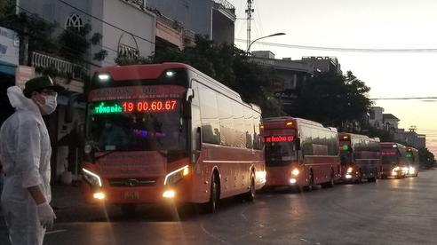Phú Yên: Tiếp tục miễn phí đưa người dân đi và đến TP HCM