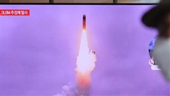 Vụ phóng thử tên lửa đạn đạo của Bình Nhưỡng 'phá hỏng' nỗ lực đối thoại hạt nhân?