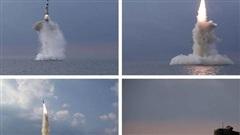 Triều Tiên tiết lộ tên lửa đạn đạo 'chưa từng biết đến'
