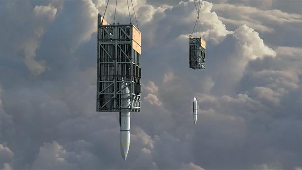 Kho tên lửa hành trình trên không Mỹ bắn đạn thật