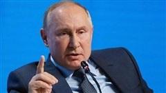 Tổng thống Putin chuẩn bị họp báo truyền thống cuối năm