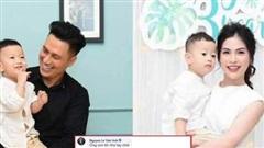 Vợ cũ khoe ảnh con trai, Việt Anh vào chốt 1 câu khiến dân tình suy diễn quá xa!