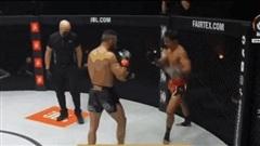 Video: Võ sĩ Muay Thái tung cú đá thần sầu, hạ gục đối thủ