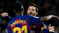 HLV Koeman: 'Ansu Fati không thể thay thế Messi'