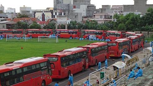 Tiếp tục những chuyến xe 0 đồng hỗ trợ người dân Phú Yên trở lại Thành phố Hồ Chí Minh