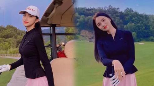 Hương Giang tung 7749 bức hình body mỏng manh trên sân golf tái xuất sau scandal lớn nhất sự nghiệp
