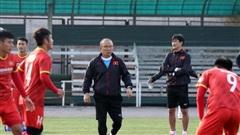 U23 Việt Nam bắt nhịp buổi đầu tiên tại Bishkek