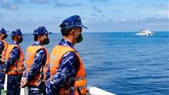 Cảnh sát biển Việt Nam và Trung Quốc tuần tra liên hợp ở Vịnh Bắc Bộ