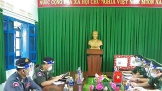 BĐBP Đắk Nông trao đổi công tác phối hợp quản lý, bảo vệ biên giới với lực lượng vũ trang tỉnh Mondulkiri, Campuchia
