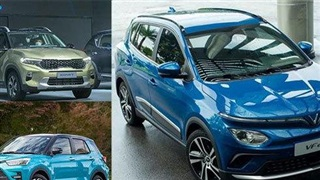 Các mẫu xe sẽ 'khuấy động' thị trường ô tô Việt cuối năm