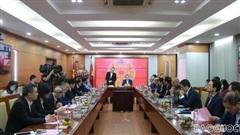 Đoàn Trưởng Cơ quan đại diện Việt Nam ở nước ngoài làm việc tại Đài Tiếng nói Việt Nam