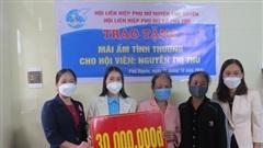 Huyện Phú Xuyên xây nhà 'mái ấm tình thương' cho phụ nữ có hoàn cảnh khó khăn