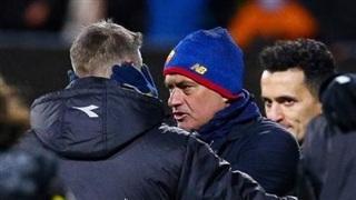 Mourinho tức giận mắng các cầu thủ Roma khiến ông mất mặt