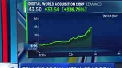 Giá cổ phiếu của DWAC tăng đột biến sau khi 'bắt tay' với cựu Tổng thống Mỹ Donald Trump