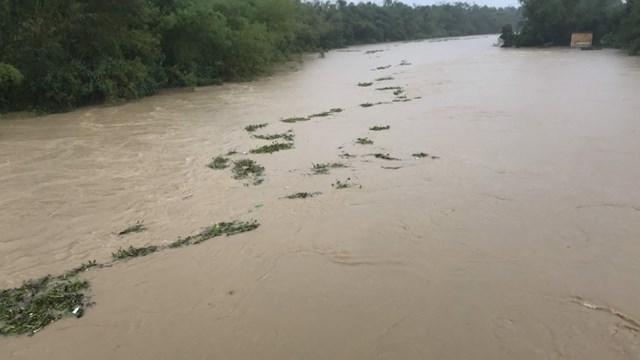 Cảnh báo lũ trên nhiều dòng sông