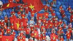 Vé trận đội tuyển Việt Nam - Nhật Bản giá cao nhất 1,2 triệu đồng